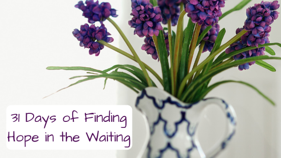 31 Days of Finding Hope in the Waiting